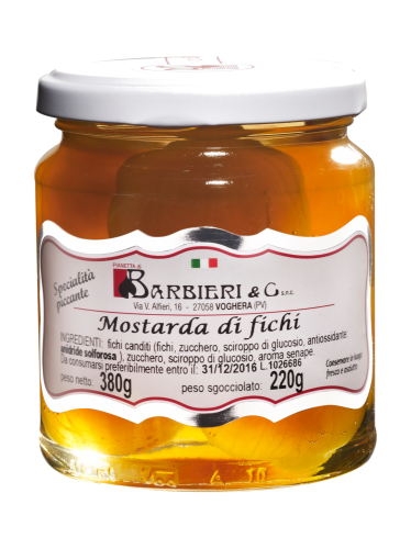 Moutarde de figues 380 g