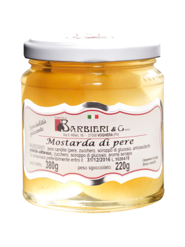 Moutarde de poire 380 g